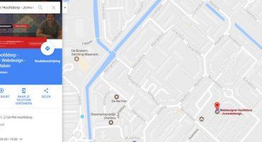 uw bedrijf zichtbaar in google maps