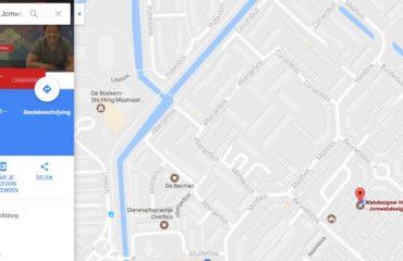 Uw bedrijf zichtbaar maken in Google Maps en Google mijn bedrijf