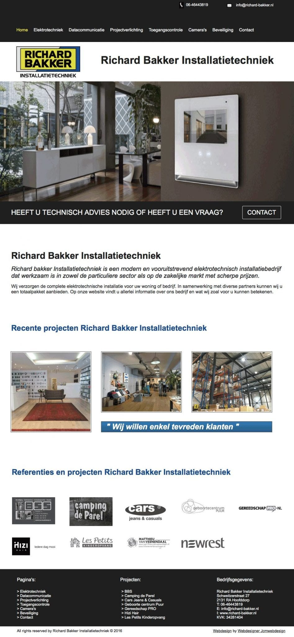 Portfolio-Wordpress-Webdesginer-Jcmwebdesign-Richard-Bakker-Installatietechniek