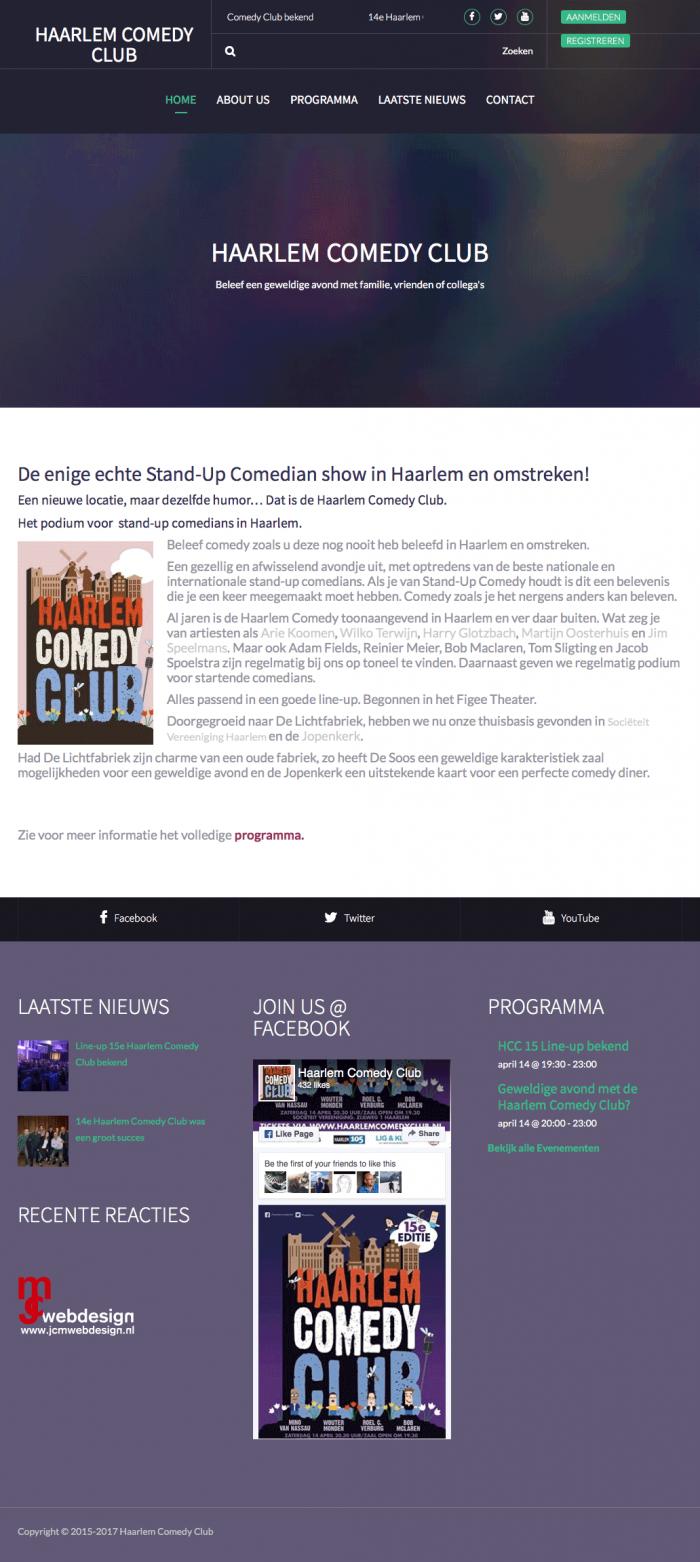 Portfolio-Wordpress-Webdesginer-Jcmwebdesign-Stand-Up-Comedian-show