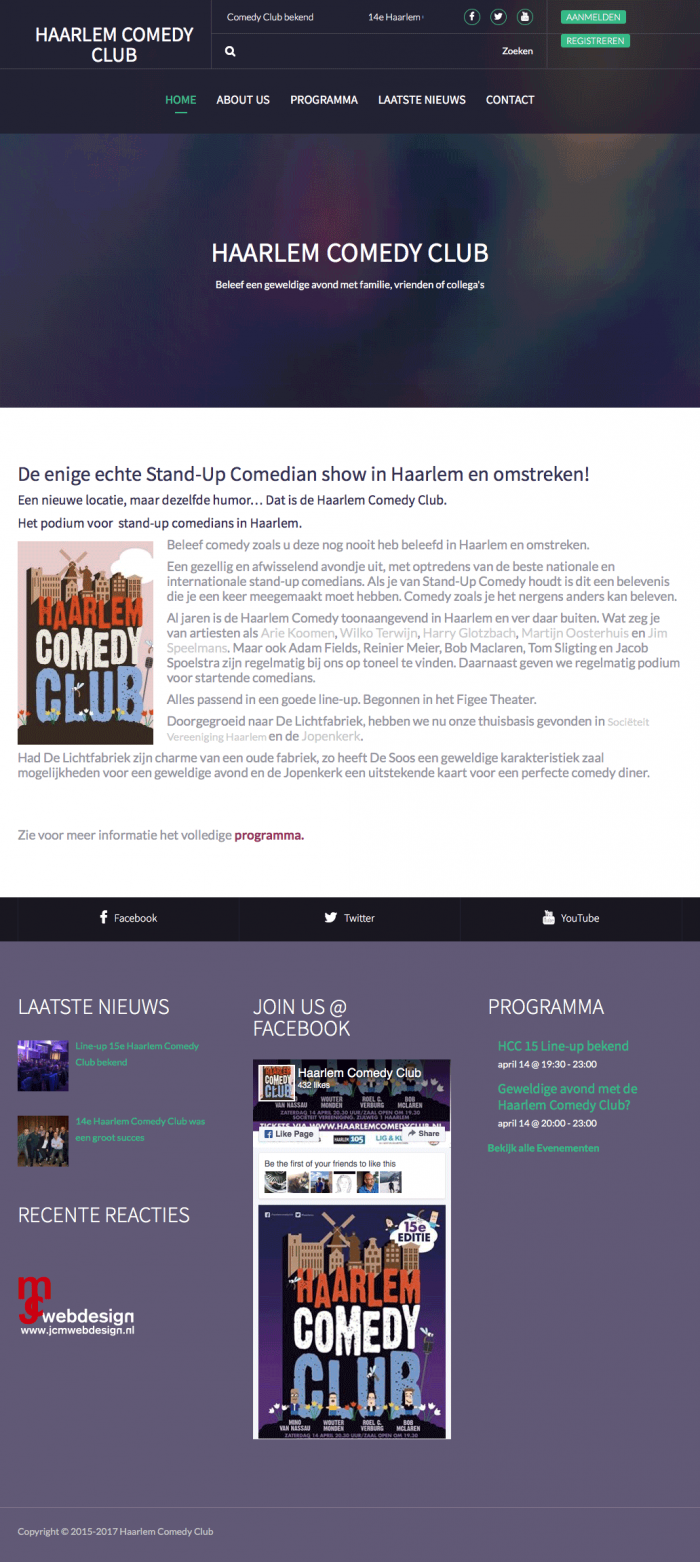 Portfolio-Wordpress-Webdesginer-Jcmwebdesign-Stand-Up-Comedian-show