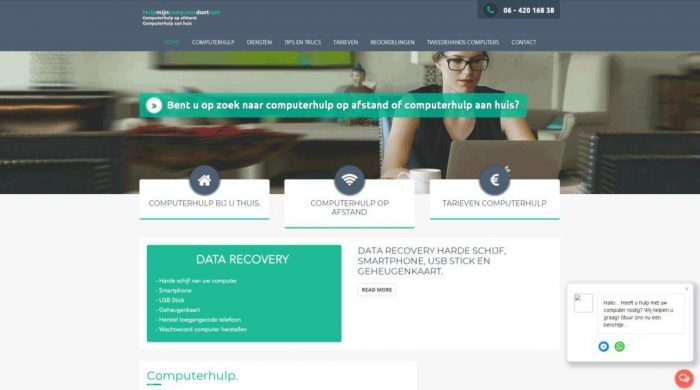 Portfolio-Wordpress-Webdesginer-Jcmwebdesign-Helpmijncomputerdoetraar