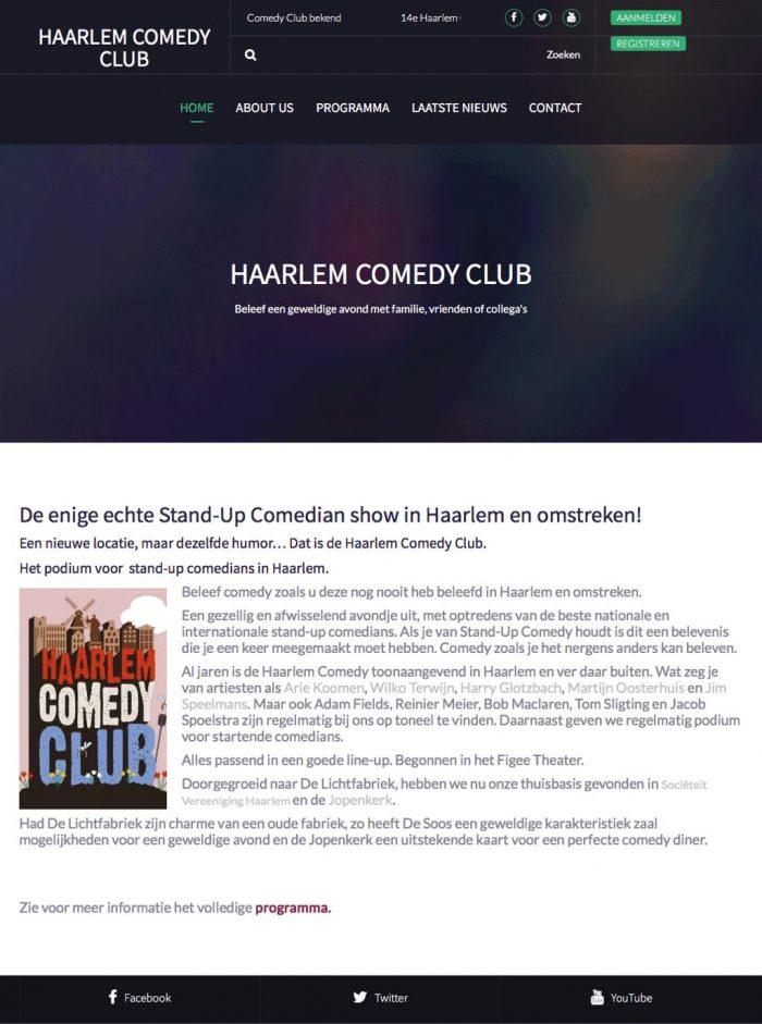 Portfolio-Wordpress-website-maken- Webdesginer-Jcmwebdesign-Stand-Up-Comedian-show