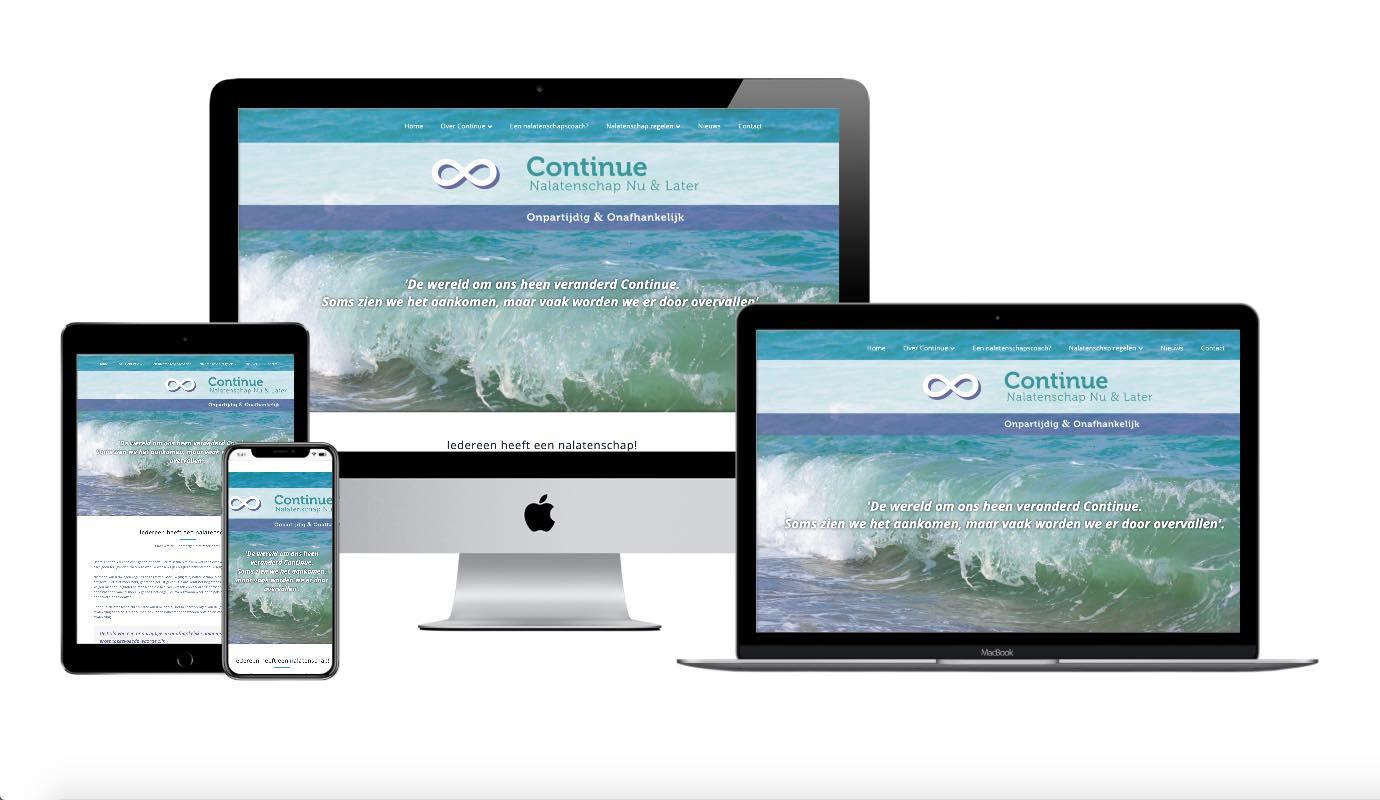 Wordpress webdesigner portfolio continue