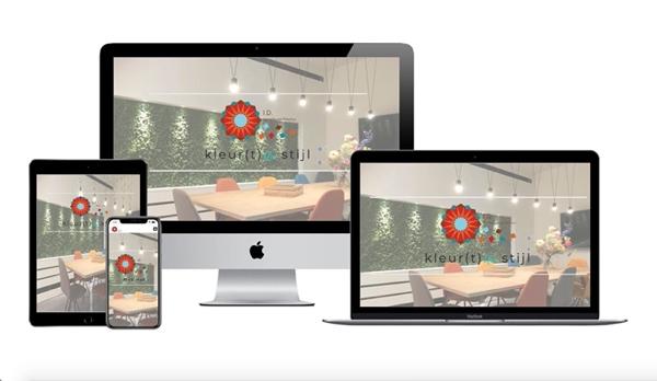 Wordpress webdesigner Jcmwebdesign portfolio id binnenhuisarchitectuur