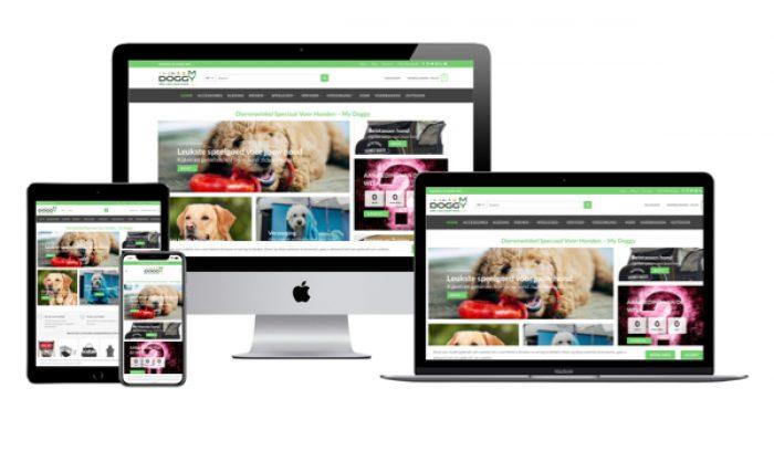 Wordpress webshop Jcmwebdesign portfolio My Doggy